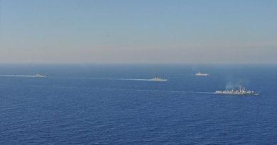 Новый спасательный буксир ЧФ начал выполнять задачи в Средиземноморье