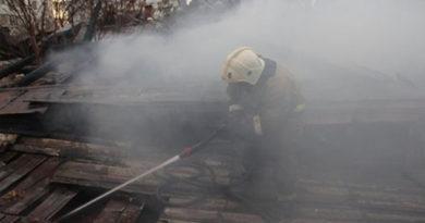Пожар в пятиэтажке Красноперекопска: спасены четыре ребенка и двое взрослых