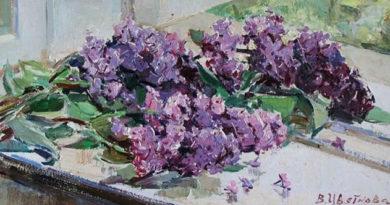 В Алупке открылась выставка Валентины Цветковой «Запечатленный восторг»