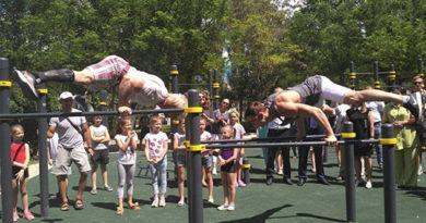 В Феодосии открыли спортплощадку для людей с особенностями развития