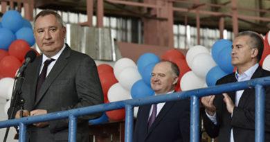 Аксенов посетовал Рогозину на недозагрузку крымских предприятий ОПК