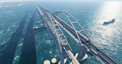 Детально и красиво: в интернете представили трехмерную модель моста в Крым