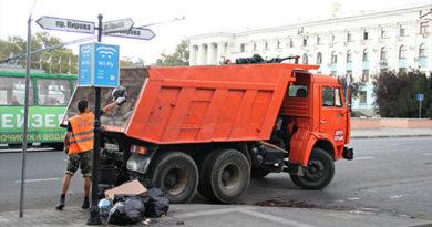 Санитарную очистку Симферополя контролирует 19 специализированных групп