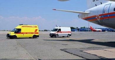 Спецборт МЧС России доставил тяжелобольного младенца из Крыма в Москву
