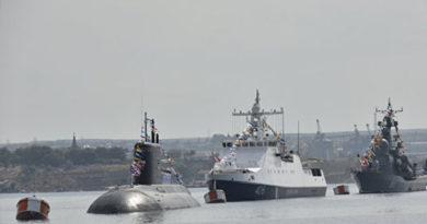 В Севастополе прошла генеральная репетиция парада в честь Дня ВМФ России