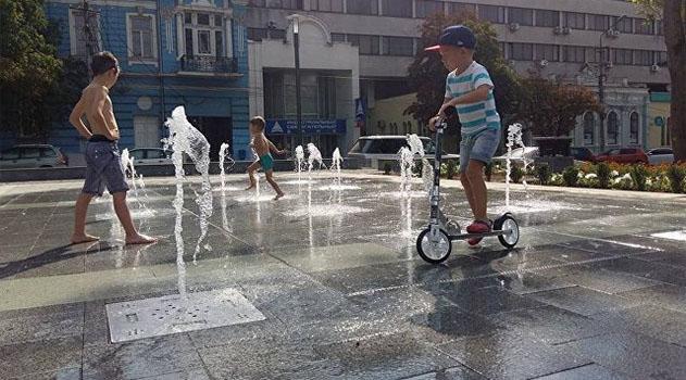 В Симферополе не предусмотрели средства на содержание фонтанов