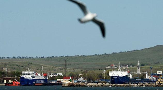 За два дня паромы перевезли через Керченский пролив почти 80 тысяч человек