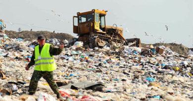 Консервировать мусорный полигон в симферопольской Каменке начнут осенью