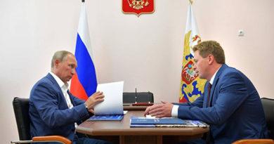 Путин попросил Овсянников учесть замечания горожан при утверждении генплана