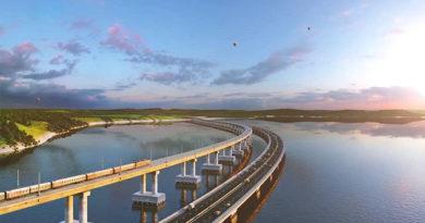 СМИ узнали о введении ограничений для полётов над Крымским мостом