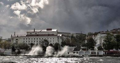 В среду в Крыму будет штормить