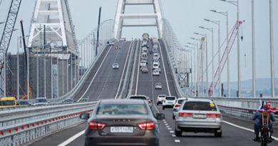 za-mesyats-po-krymskomu-mostu-proehali-bolee-500-tys-mashin