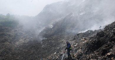 Задымление на феодосийской свалке практически ликвидировано – замглавы администрации города