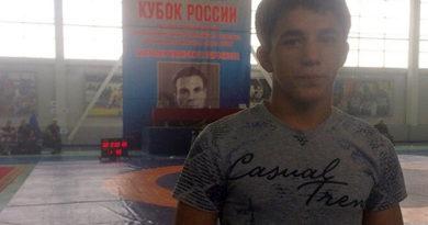 Крымчанин стал бронзовым призером юношеского Кубка России по греко-римской борьбе