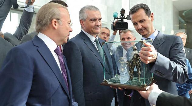 glava-kryma-v-damaske-vstretilsya-s-prezidentom-sirii-asadom