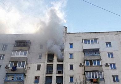 Пожар в многоэтажке Симферополя: спасатели эвакуировали 10 человек