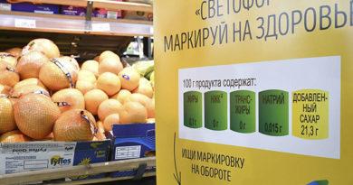 """Полезный """"светофор"""": осенью в России вводится новая маркировка продуктов"""