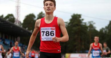 Юный симферополец попал в десятку лучших легкоатлетов России