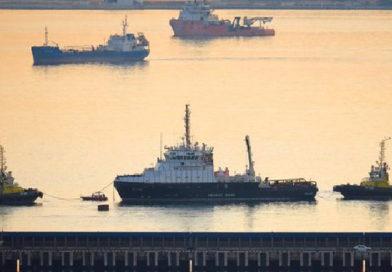 Экипаж построенного для ЧФ спасательно-буксирного судна завершил госиспытания