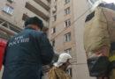 Тридцать пожарных тушили многоэтажку в Симферополе