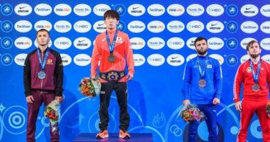 Крымчанин взял серебро на Чемпионате мира по греко-римской борьбе